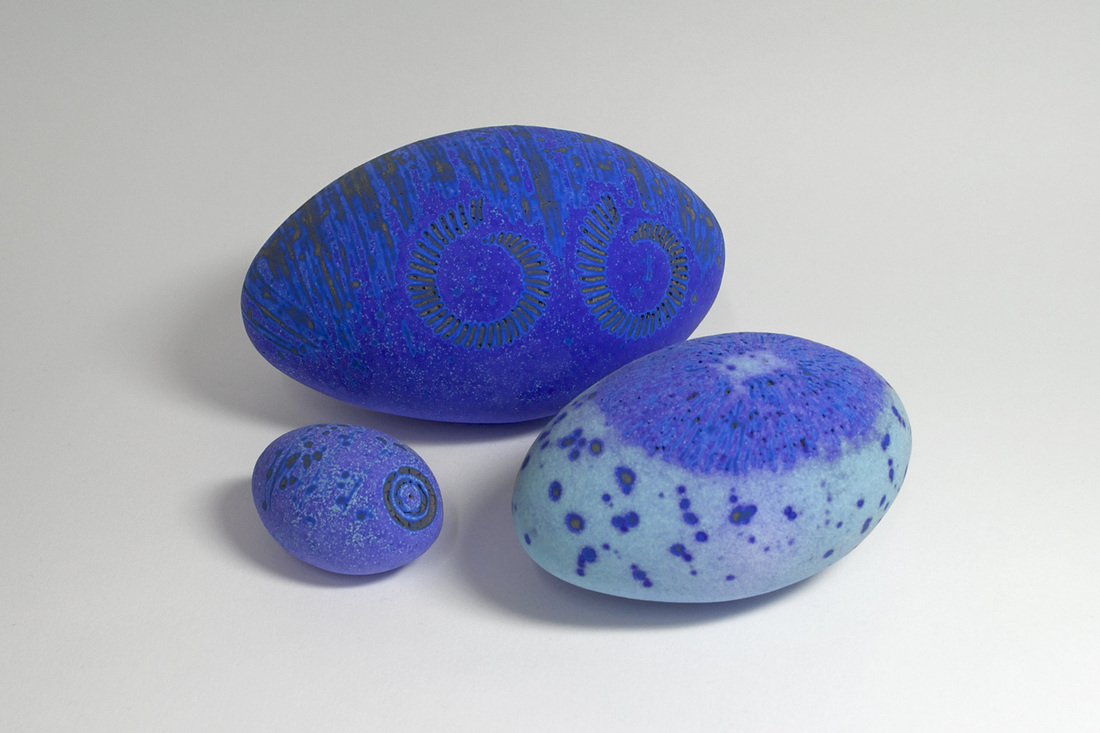 Ceramic Pebble Forms - 2011