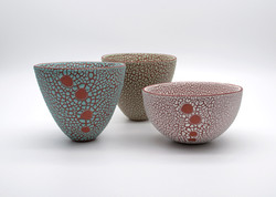 Tall Bowls (Size 1) & Small Round Bowl - 2018.