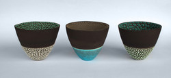 Tall Bowls (Size 1) 2014.