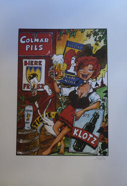 affiche cartonné 44 cm x 30,7 cm de Jean