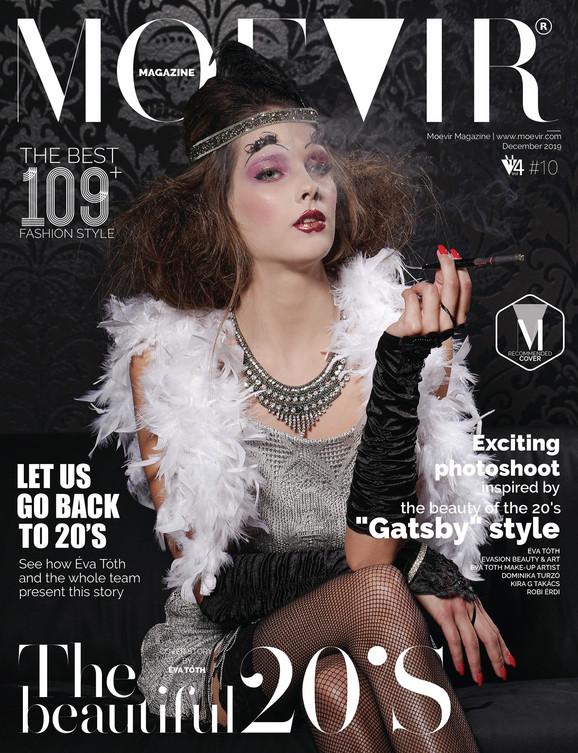 Moevir fashion magazin cover fotózás