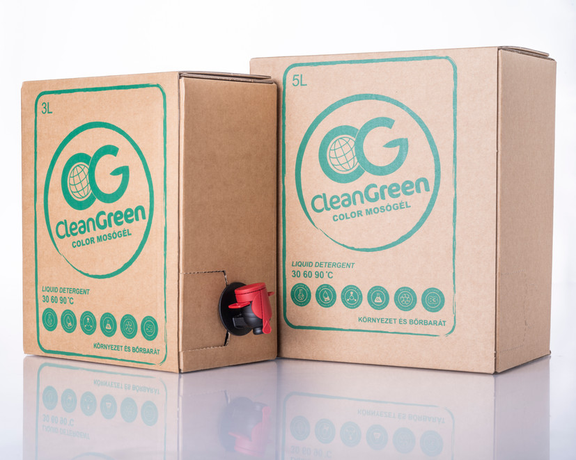 Clean Green mosópor - termékfotózás