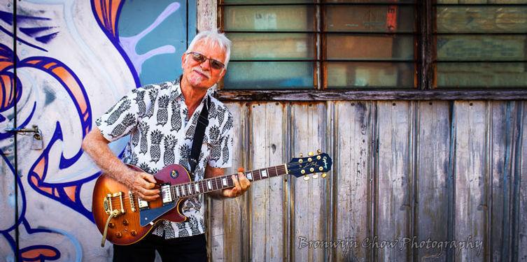 cairns musician mark burton