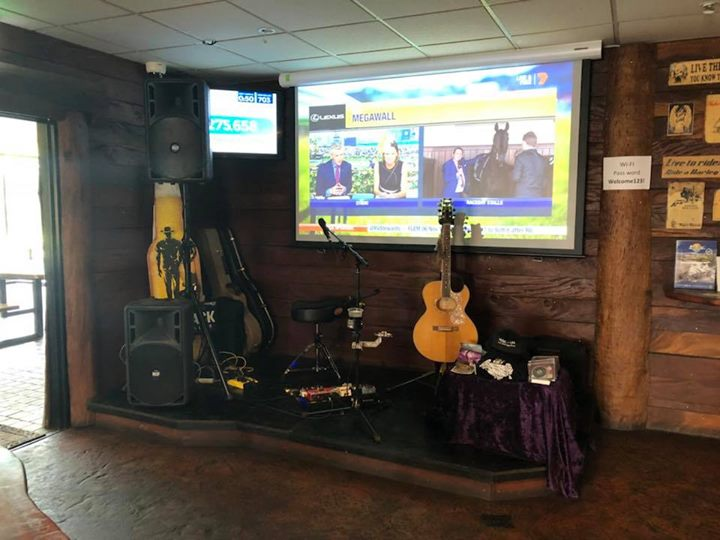 Today's stage! Darwin River Tavern from