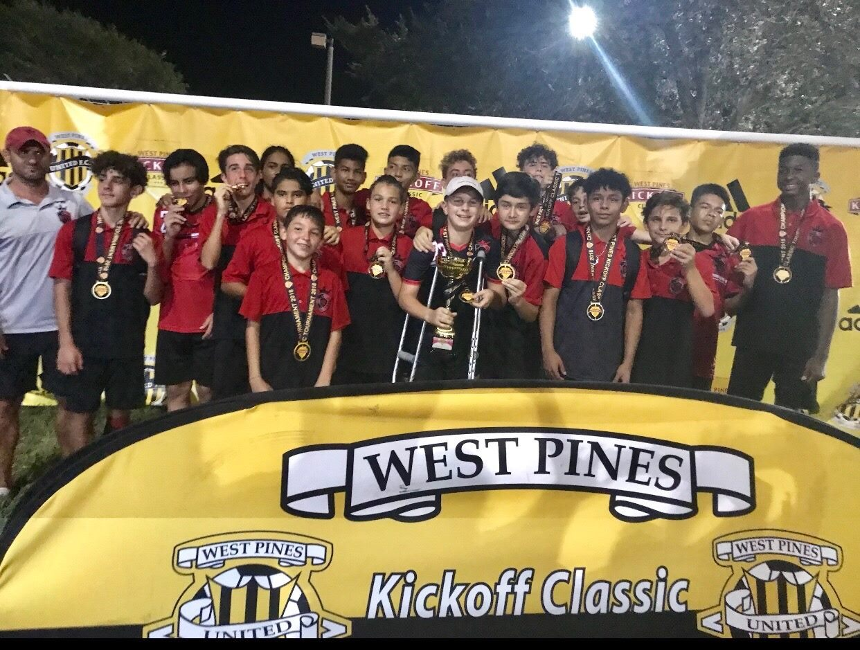 2004 West Pines Champions