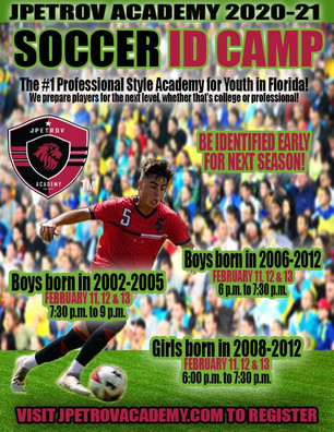 ID CAMP DATES AND TIMES FOR FEBRUARY ANNOUNCED! REGISTER FOR FREE TODAY!