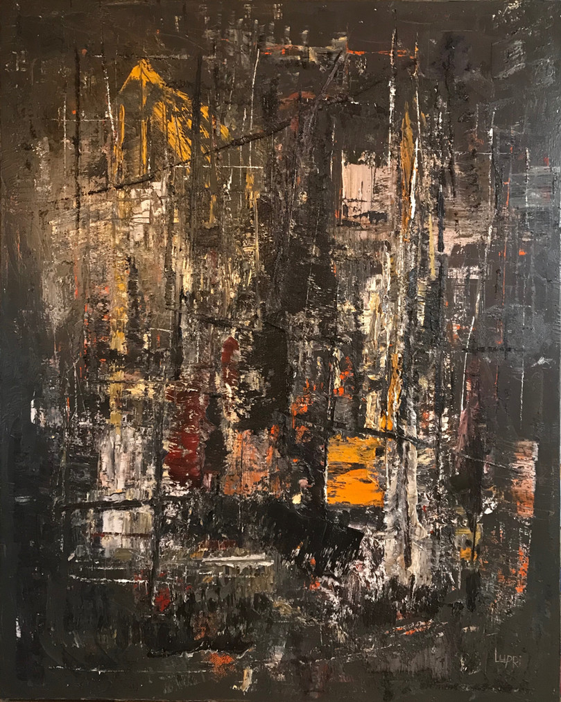 A Still the Night        60x48       Oil     2019