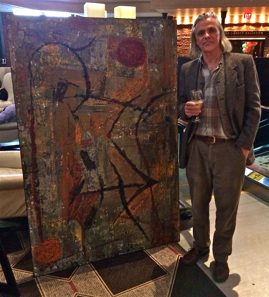 Matthias at Liberty Hotel Art Party Beacon Hill - Cheers!