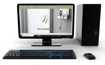 Création de Site Web pour Zicat Consultant - Wix.com