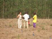Field meeting in Congo