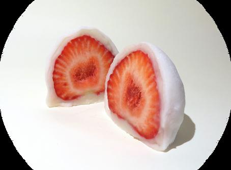 苺大福、今季販売終了致しました。