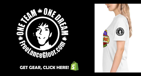 Free Lance Gloor, HempNut T-Shirt