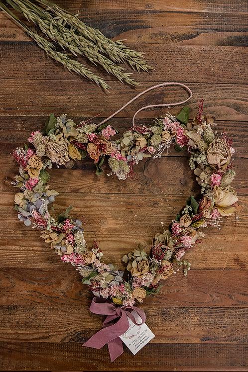 cuore rosa chiaro