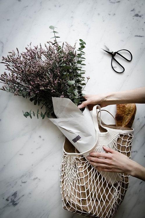 fiori secchi con bag in rete