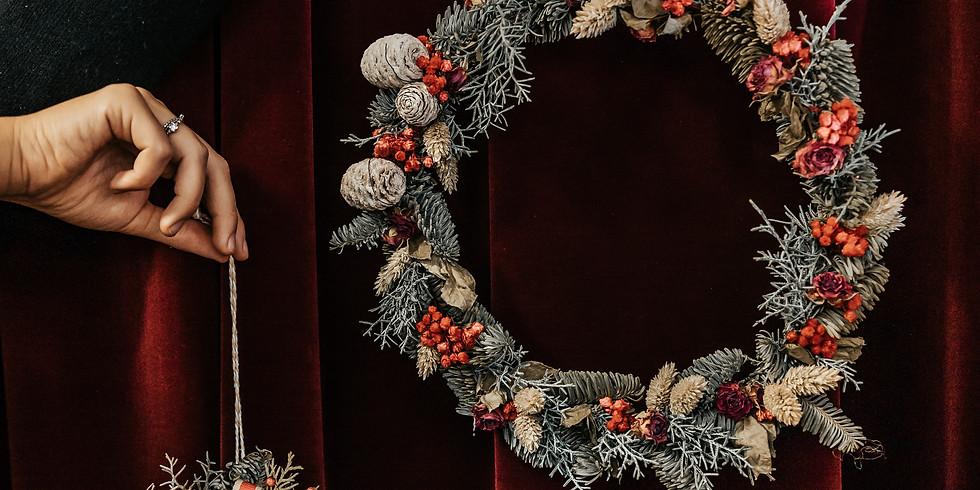ghirlande secche natalizie