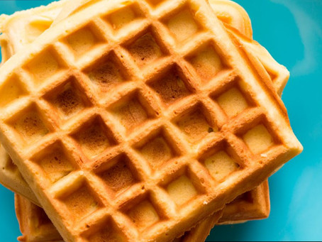 Coconut-Flax Waffles
