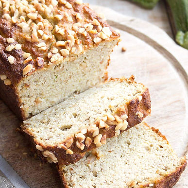 Low-carb zucchini bread