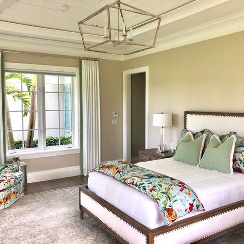 Master Bedroom Custom Bedding & Pillows