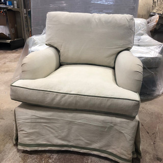 Mac Fabrics Upholstery Before
