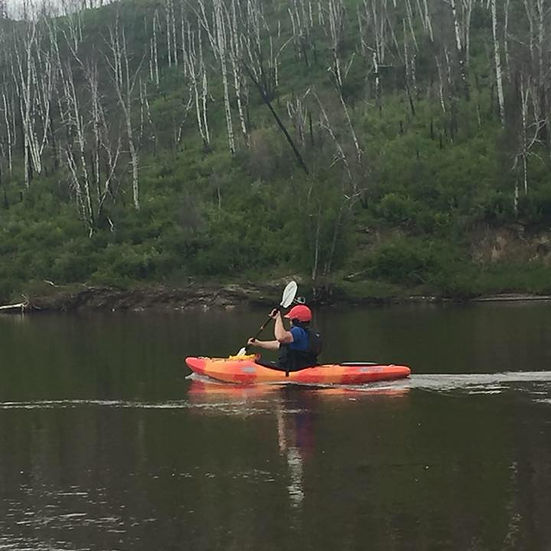 Paddling the Clearwater River Fort cmurray,AB