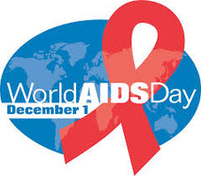 Honoring Richard Amsel on World AIDS Day, with a panel for the AIDS Memorial Quilt.