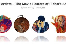 ART OF THE MOVIES posts Amsel Retrospective