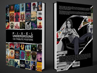 Art included in upcoming book, PIXEL UNDERGROUND (Updated!)