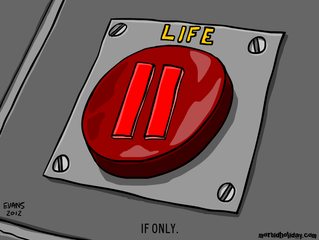 Life on hold / Coming soon