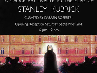STANLEY KUBRICK art tribute in Burbank!
