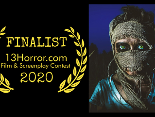 """IMPROPER DOSAGE"" finalist @ 13HORROR.com contest; script to be published under their imprint."