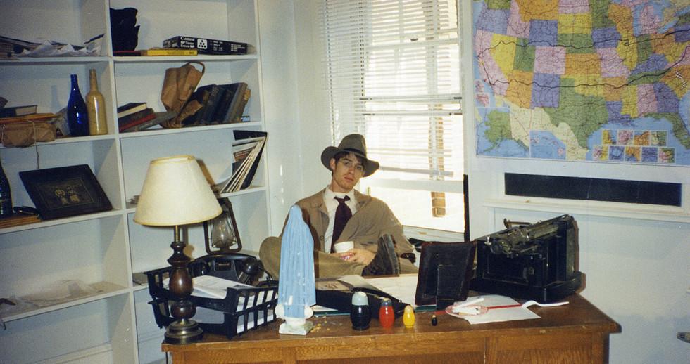 Matt Semler as Vince; shooting within the old Avery Building at Vassar.