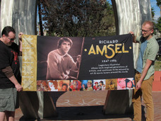In honor of World AIDS Day, Amsel's quilt panel finally viewable to the public on Dec. 2nd in Ne