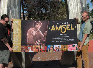 Honoring Richard Amsel on World AIDS Day, with a panel for the AIDS Memorial Quilt. (Continued)