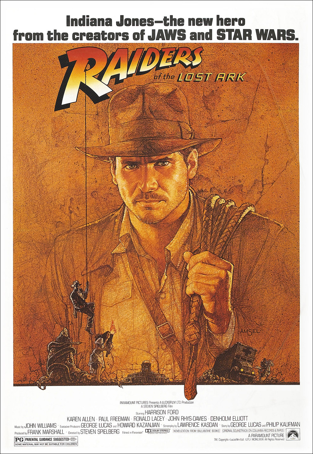 Raiders of the Lost Ark poster (1981)