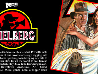 Spielberg tribute show at POPZILLA Gallery Anaheim
