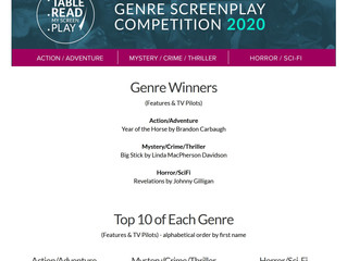 Update re: Table Read My Screenplay Competition