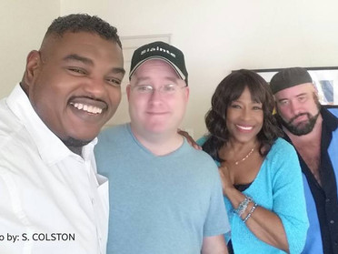Interviewing Charlo Crossley -- sister act, class act, letting mercy kick in...