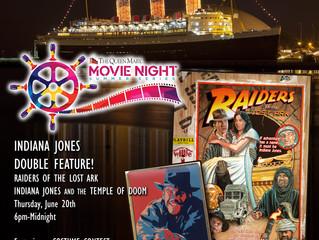 Queen Mary Indiana Jones event