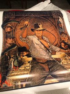 Update re: the chance to win a print of Amsel's 1982 RAIDERS artwork!
