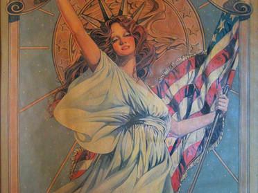 Amsel's Bicentennial poster.