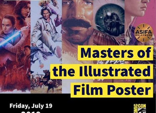 Masters of the Illustrated Film Poster panel at SDCC! (Updated with video!)
