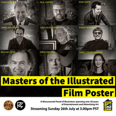 SDCC Movie Poster Panel, Struzan, Shipper, and more goodness!