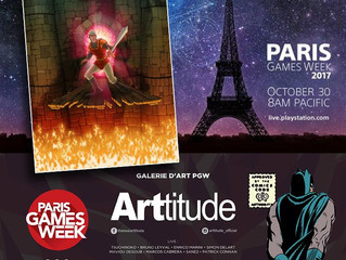 Art featured in PARIS GAMES WEEK!