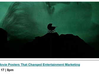 Upcoming POSTER HOUSE panel: 50 Movie Posters that Changed Entertainment Marketing