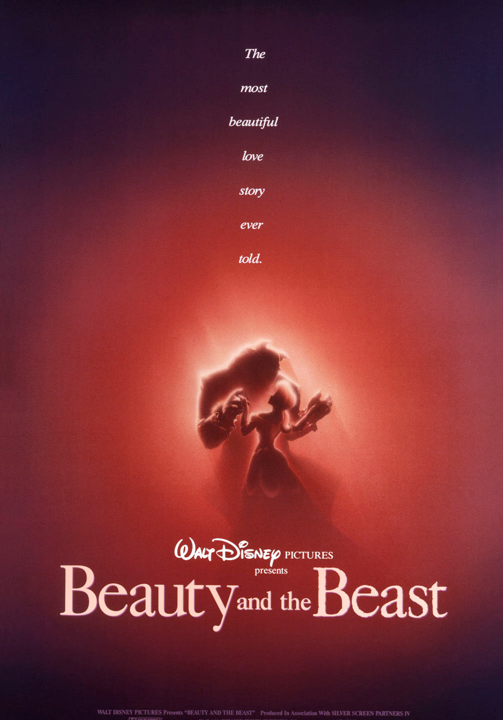 Alvin's haunting poster for BEAUTY AND THE BEAST embraces the mystery and romantic nature of the tale.
