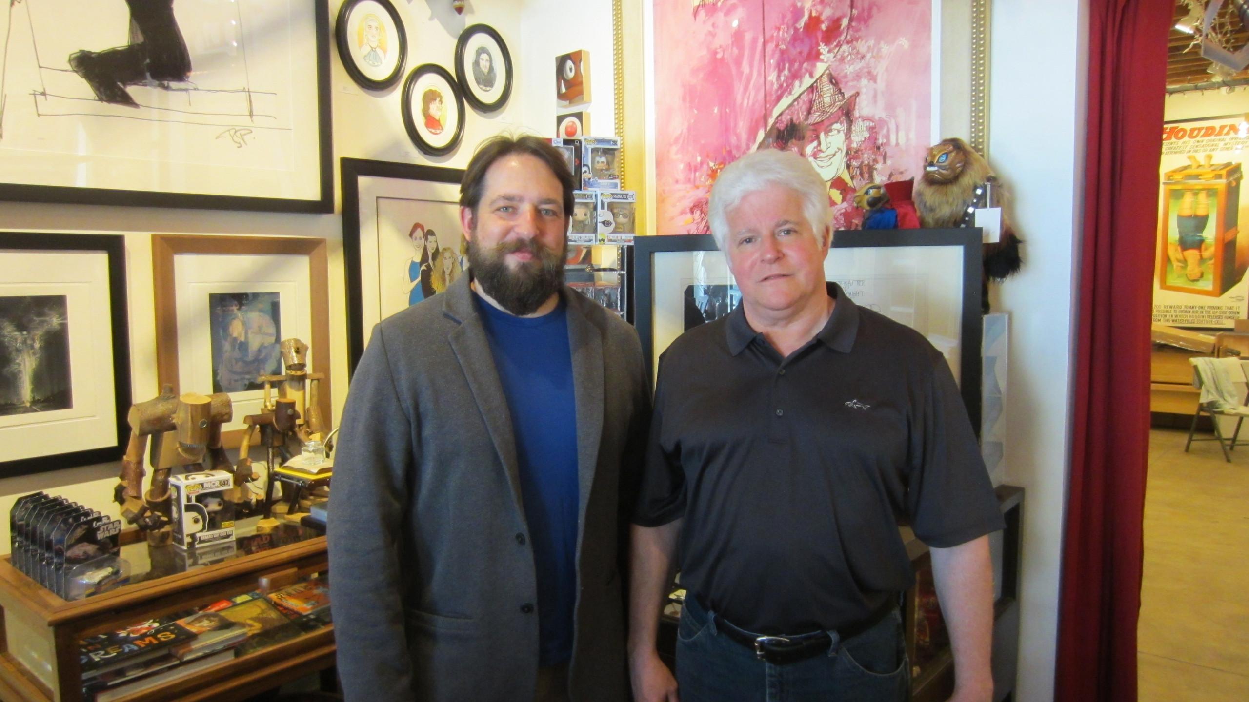 Scott Gandell and Tom Peak