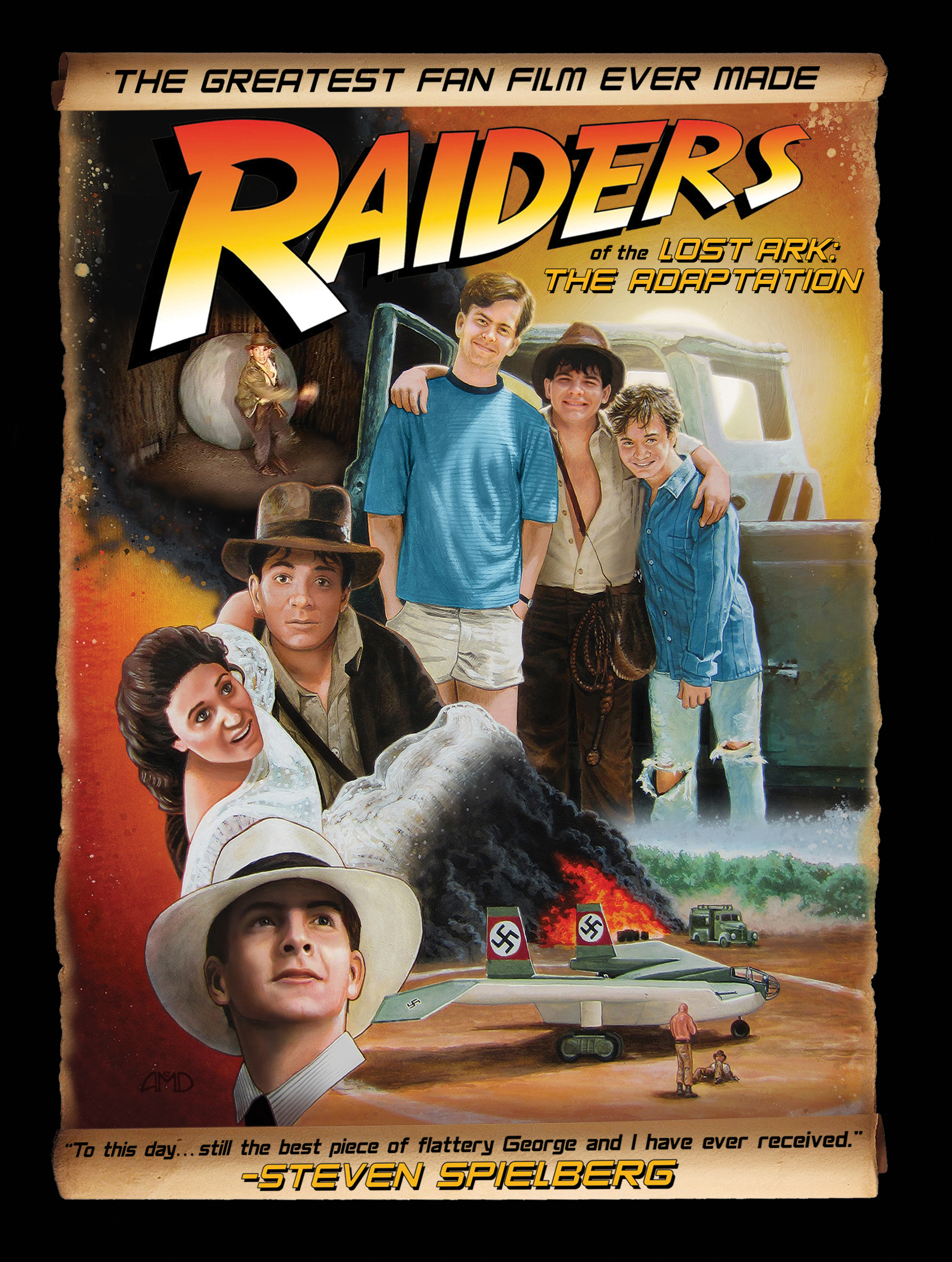 Raiders Adaptation DVD