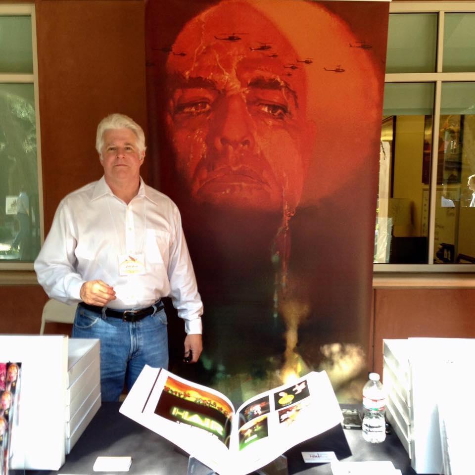 Tom Peak at a book signing