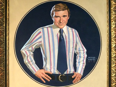 Another Amsel rediscovery: Merv Griffin portrait