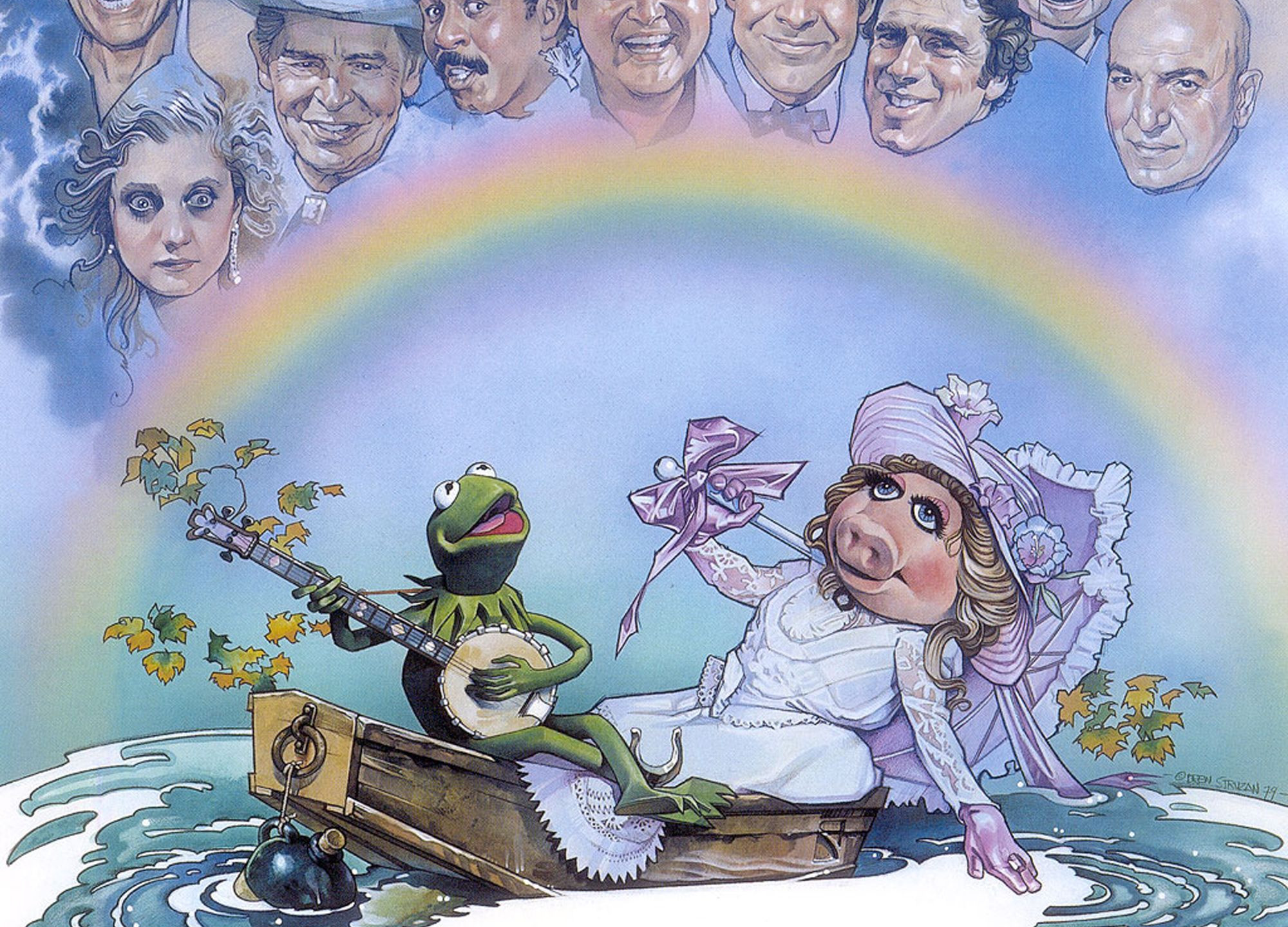 THE MUPPET MOVIE poster by Drew Struzan